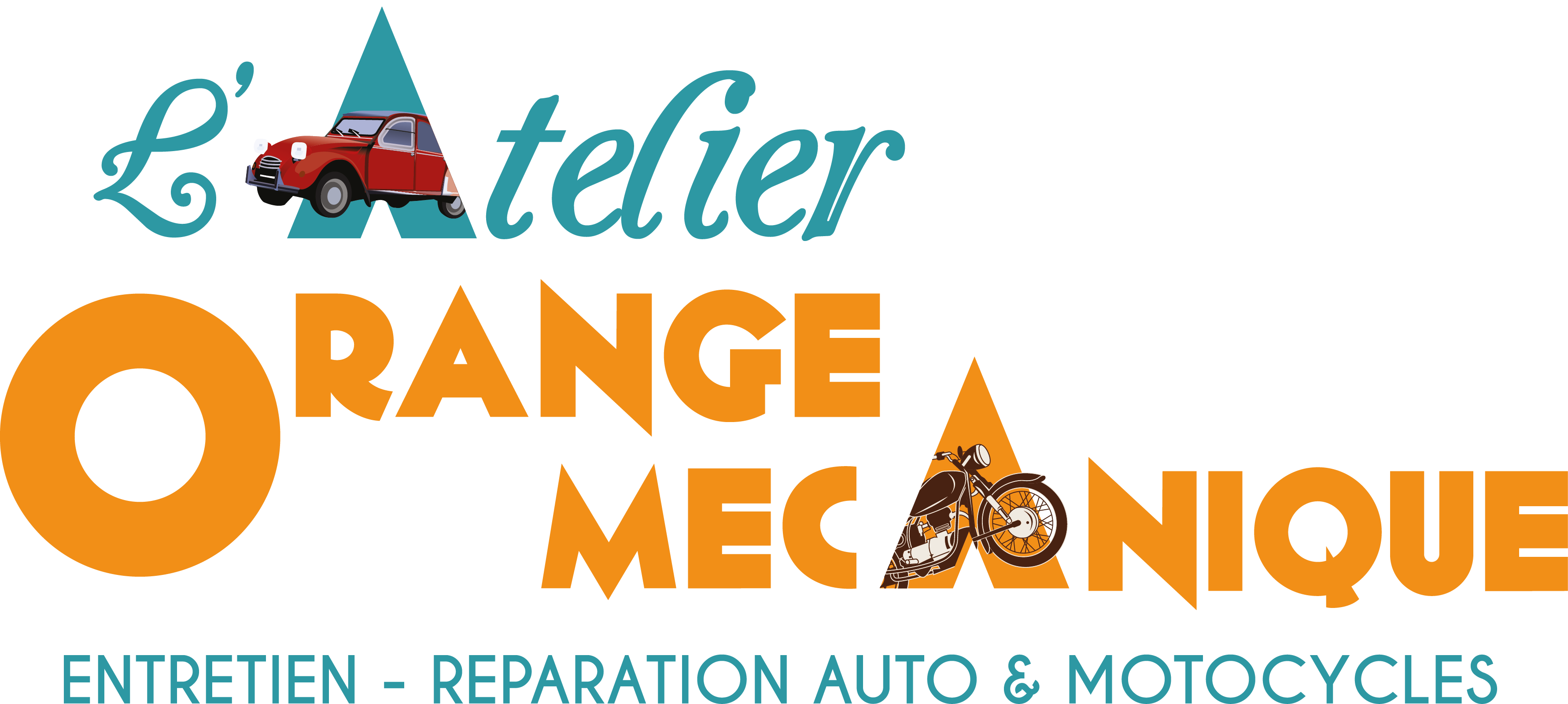 L'atelier orange mécanique Sticky Logo Retina